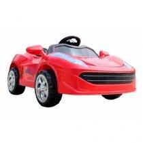 Mini Carro Eletrico Infantil Vermelho - Bateria recarregável de 6V  - Import Way - Importway sp