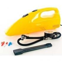 Mini compressor de ar 300psi + aspirador de po para carro moto bicicleta - Faça  resolva