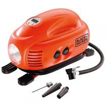 Mini compressor doméstico 12v digital asi200 la - Blackdecker