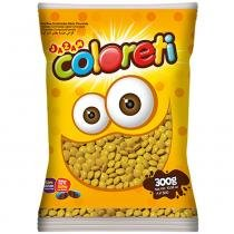 Mini Confeito Chocolate Amarelo Coloreti 300g - Jazam -