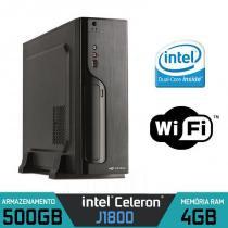 Mini CPU FIREWALL Intel Dual Core, 4GB, HD 500GB com Dual LAN - Alfatec