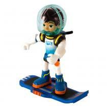 Mini Figura - Disney Junior - Miles do Amanhã - 7 cm - Galactic Miles - Sunny - Sunny