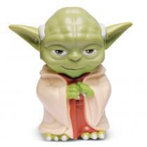 Mini Figura e Lanterna - Star Wars - Mestre Yoda - DTC - Disney - DTC