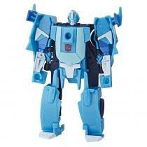 Mini Figura Transformável - 11 Cm - Transformers Cyberverse - Blurr - Hasbro -