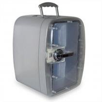 Mini Geladeira Polar Quente/Frio Bivolt Para 8 Latas - Prata -
