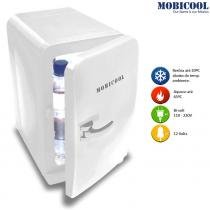 Mini Geladeira Portátil de 05 litros Branca Bivolt 12V F05B DC/AC - Mobicool - Mobicool