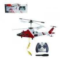 Mini Helicoptero Falcão 3ch Gyro Voa Dentro De Casa Controle - Art Brink