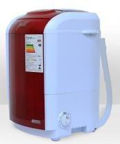 Mini lavadora de roupas Petit vermelha 220v - Praxis