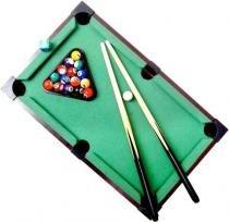 Mini Mesa De Bilhar, Sinuca, Snooker. 34x22x7cm - Lorben