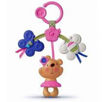 Mini mobile ursinho rosa fisher-price mattel r7138 034391 -