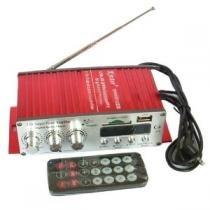 Mini modulo amplificador de som para carro kinter com 2 canais digital 25w e controle ma-120 - Paris