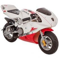 Mini Moto à Gasolina Bull Motors BK-R6 49cc - Freio à Disco 25km/h