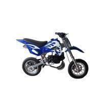 Mini Moto Cross 49cc Dirt Bike A Gasolina 2 Tempos WVDB-006 Azul - Importway -