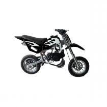 Mini Moto Cross 49cc Dirt Bike A Gasolina 2 Tempos WVDB-006 Preta - Importway -