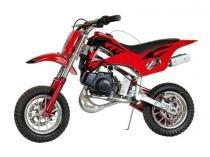 Mini Moto Cross 49cc - Vermelho - Mini veiculos