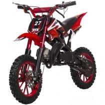 Mini Moto Cross Db08 Automática 49cc - Freio a disco-susp. Alumínio-Gasolina- Bull Motors