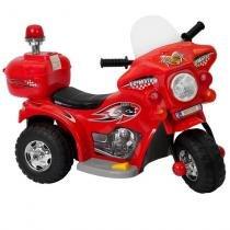 Mini Moto Elétrica Infantil 6V Importway BW002 - VERMELHA -