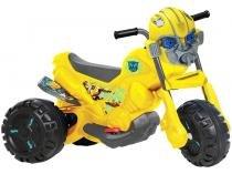 Mini Moto Elétrica Infantil Transformes 3354 - 2 Marchas 6V Bandeirante