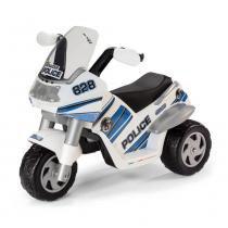 Mini Moto Elétrica - Raider Police 6V - Peg-Pérego - Peg pérego