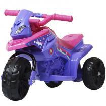 Mini Moto Elétrica Triciclo Criança Infantil Bivolt Bateria 6V - Importway