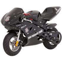 Mini Moto Infantil Corinthians BKR6 49cc - Motor 2 Tempos Vel Máxima 35km/h - Bull Motors
