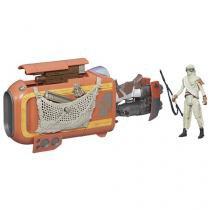 Mini Moto Infantil Disney Star Wars - Speeder de Rey (Jakku) Hasbro