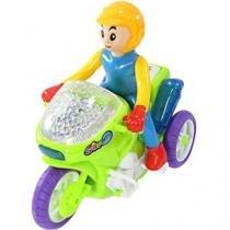 Mini Moto Infantil Luz Mágica - Emite Sons Lotus