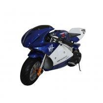Mini Moto Scooter Azul 49cc - Mymoto -