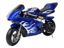 Mini Moto Speed 49cc - Azul - Mini veiculos
