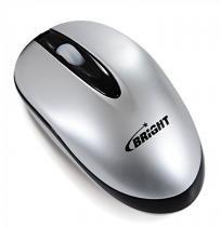 Mini Mouse Brasil Retrátil Prata USB 0029 - Bright