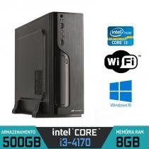 Mini PC Intel Core i3, 8GB Ram, HD 500, Wifi e Windows - Alfatec