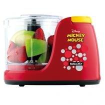 Mini Processador de Alimentos Mallory Dinsey - Mickey Mouse 1 Velocidade + Pulsar 130W