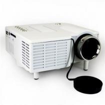 Mini Projetor de LED UC28 com Entrada HDMI - Branco - Mega page