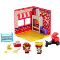 Mini Quartos Pizzaria My Mini Mixieqs - com Acessórios Mattel