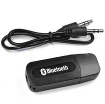 Mini receptor de audio Bluetooth com alimentação via USB - Preto - Gadget shop