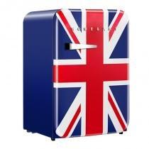 Mini Refrigerador Retro Home  Art 106 Litros Bandeira UK -