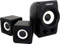Mini Subwoofer Preto 3W USB - Bright