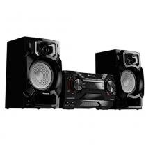 Mini System 450W Bluetooth CD USB SC-AKX220LBK - Panasonic - Panasonic