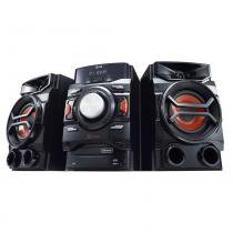 Mini System CM4350 X Boom Pro, MP3, 2 USB, Multi Bluetooth, USB Rec, TV Sound Sync, Brasil EQ, 220W RMS - LG - Elgin calculos