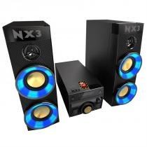 Mini System Hi-Fi 400W com USB, DVD e Bluetooth NTRX300X PHILIPS - Philips
