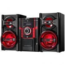 Mini System Lenoxx 50W RMS MP3 Karaoke USB - MS 844