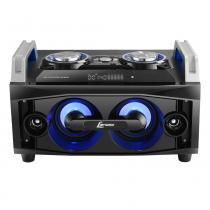 Mini system lenoxx com controle remoto, bluetooth e karaokê - ms8300 -