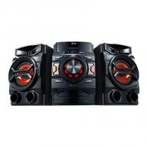 Mini system lg 200w, dual usb - cm4340 -
