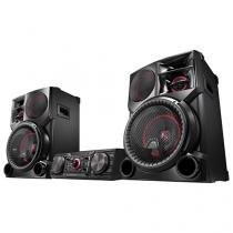 Mini System LG 2700W RMS MP3 Karaokê - Multi Bluetooth Dual USB Wireless CM9760