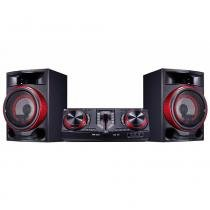 Mini System LG CJ87, USB, Multi Bluetooth, 1800W - Bivolt -