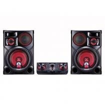 Mini System LG CJ98, XBoom Multi Bluetooth, USB, Wireless, 2700W RMS - Bivolt -