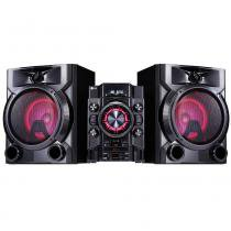Mini System LG CM5660 Preto, 620W RMS, USB, Multi Bluetooth, Multi Playlist, Sound Sync Wireless -