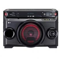 Mini system lg om4560 multi bluetooth usb mp3 200w -