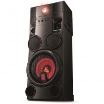 Mini System LG OM7560, Multi Bluetooth, USB, MP3, 1000W - Bivolt -