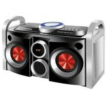 Mini System MS-08B Super Sound Box, Entradas USB e SD, Display de LED, 30W RMS - Mondial -